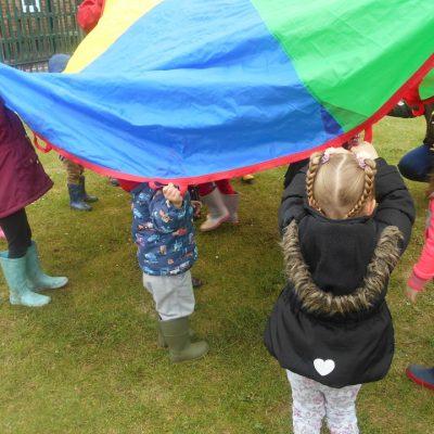 Market Rasen Pre School Parachute